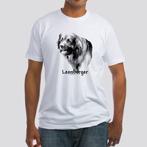 Leonberger Charcoal Fitted T-Shirt