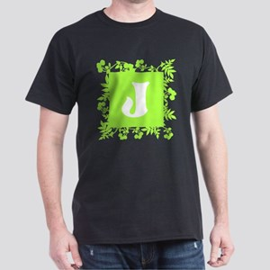 Plants and Letter J. T-Shirt