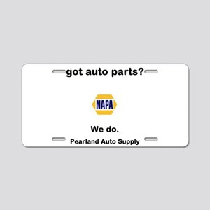 got auto parts? Aluminum License Plate