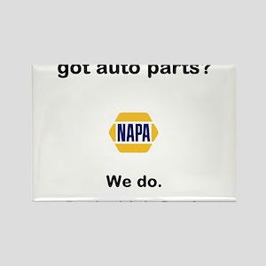 got auto parts? Rectangle Magnet