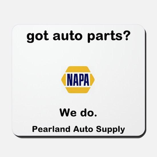 got auto parts? Mousepad