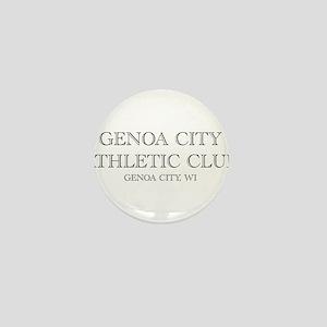 Genoa City Athletic Club 01 Mini Button