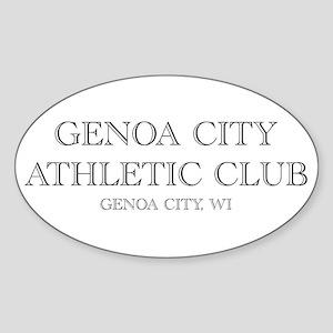 Genoa City Athletic Club 01 Sticker