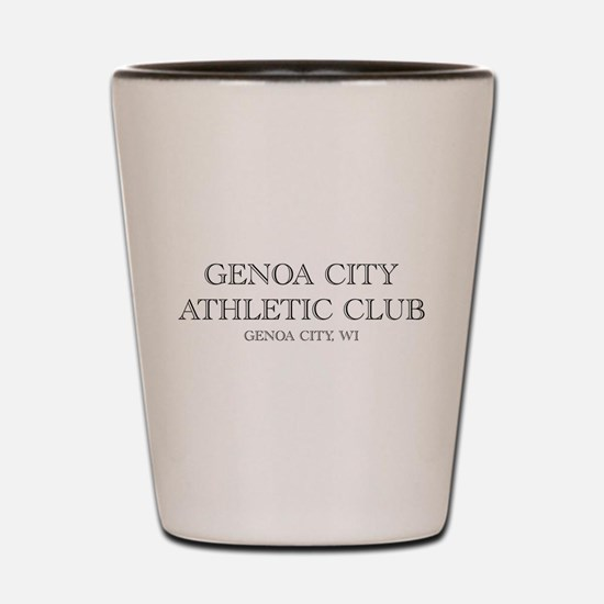 Genoa City Athletic Club 01.png Shot Glass