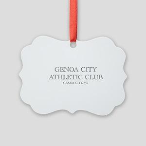 Genoa City Athletic Club 01 Ornament
