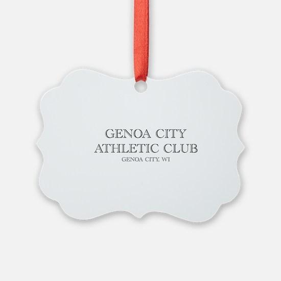 Genoa City Athletic Club 01.png Ornament