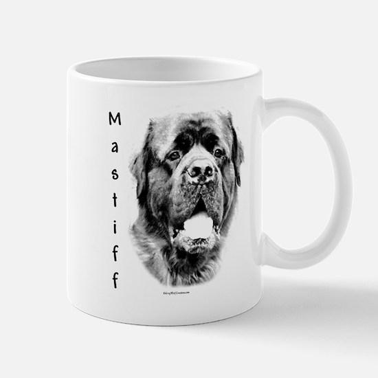Mastiff (fluffy) Charcoal Mug