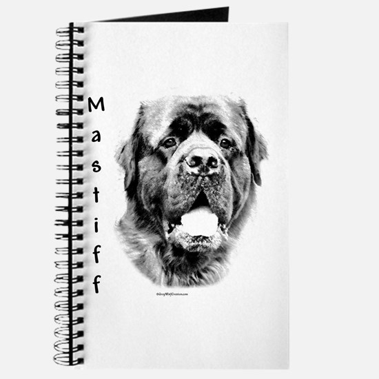 Mastiff (fluffy) Charcoal Journal