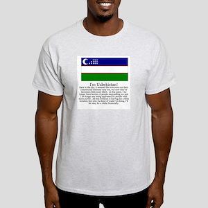 Uzbekistan Gray T