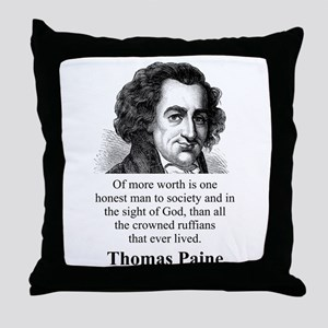 Of More Worth Is One Honest Man - Thomas Paine Thr