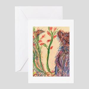 Pastel Harmony Greeting Card