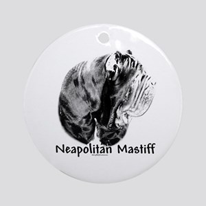 Neo (side) Charcoal Ornament (Round)