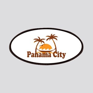 Panama City - Palm Tree Designs. Patches