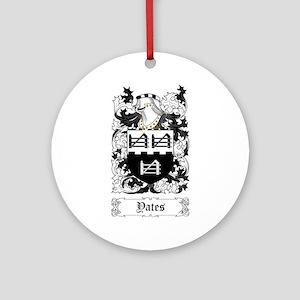 Yates Ornament (Round)
