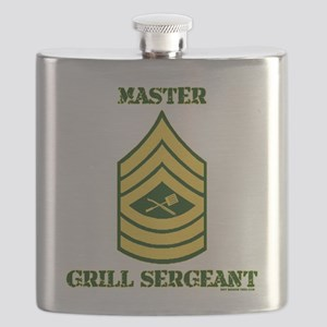 GRILL SERGEANT-MASTER Flask