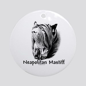 Neo (front) Charcoal Ornament (Round)