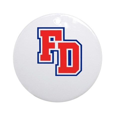 FD Logo Ornament (Round)