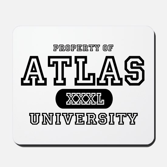 Atlas University Mousepad