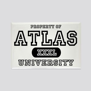 Atlas University Rectangle Magnet