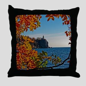 Fall at Split Rock Throw Pillow