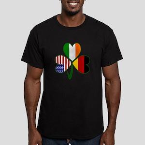 Shamrock of Germany Men's Fitted T-Shirt (dark)
