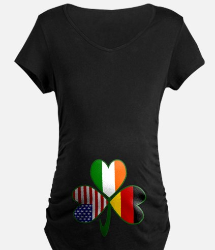Shamrock of Germany Belly T-Shirt
