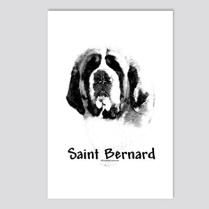 Saint Charcoal Postcards (Package of 8)