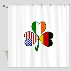 Shamrock of Germany Shower Curtain
