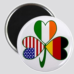 Shamrock of Germany Magnet