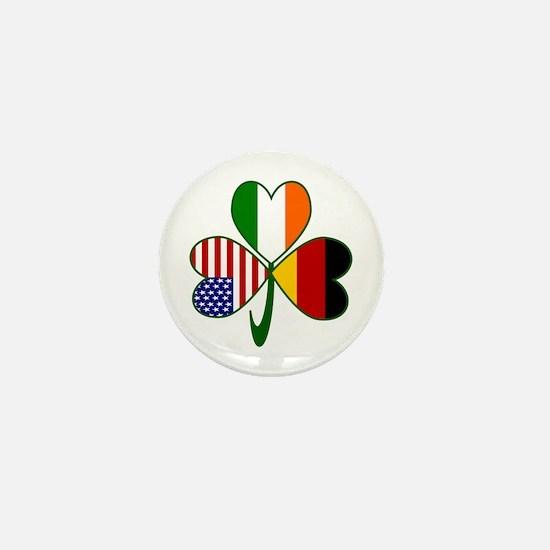 Shamrock of Germany Mini Button