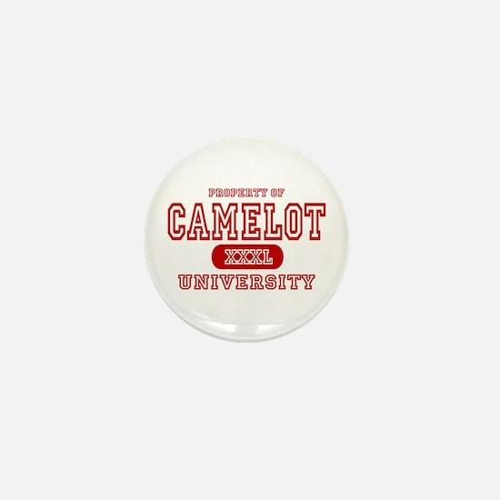 Camelot University Mini Button