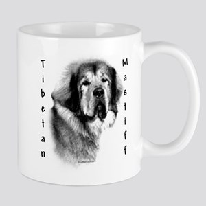 Tibetan Mastiff Charcoal Mug
