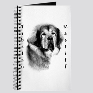 Tibetan Mastiff Charcoal Journal