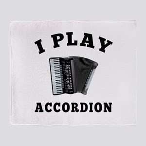 Accordion designs Throw Blanket