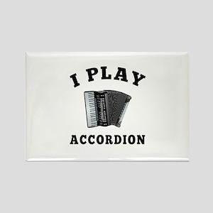 Accordion designs Rectangle Magnet