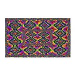 Psychedelic 3'x5' Area Rug