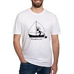 Kokopelli Sailor Fitted T-Shirt