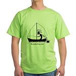 Kokopelli Sailor Green T-Shirt