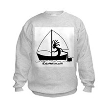 Kokopelli Sailor Kids Sweatshirt