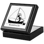 Kokopelli Sailor Keepsake Box