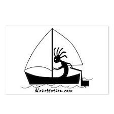 Kokopelli Sailor Postcards (Package of 8)