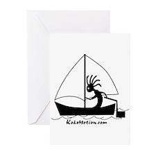 Kokopelli Sailor Greeting Cards (Pk of 10)