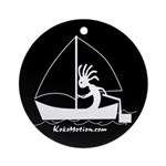 Kokopelli Sailor Ornament (Round)