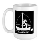 Kokopelli Sailor Large Mug