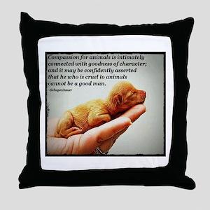 Words of Wisdom 1 Throw Pillow