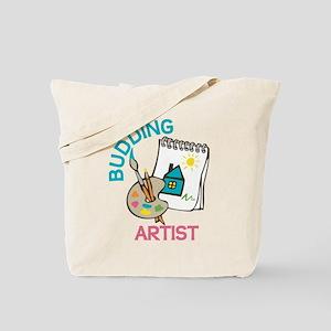 Budding Artist Tote Bag