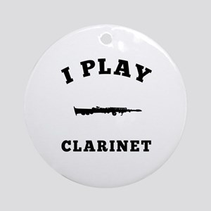 Clarinet designs Ornament (Round)