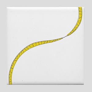 Measuring Tape Tile Coaster