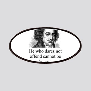 He Who Dares Not Offend - Thomas Paine Patch