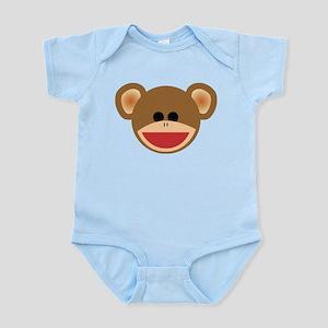Wild Sock Monkey Child Body Suit